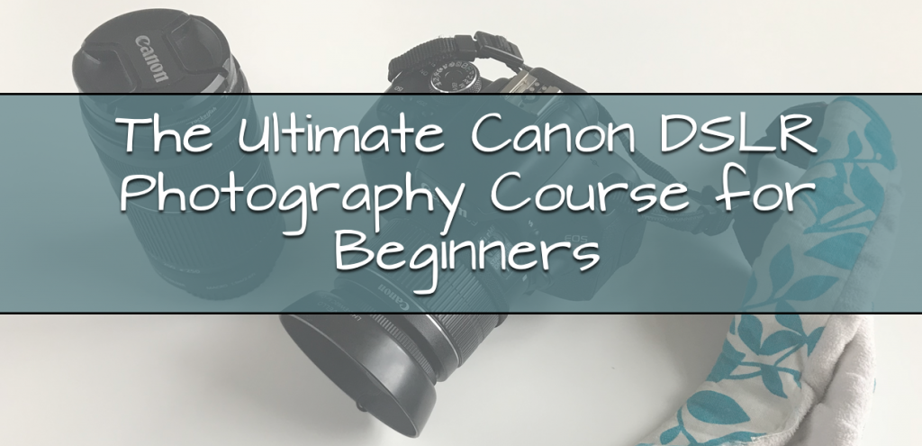 Canon DSLR Course for Beginners