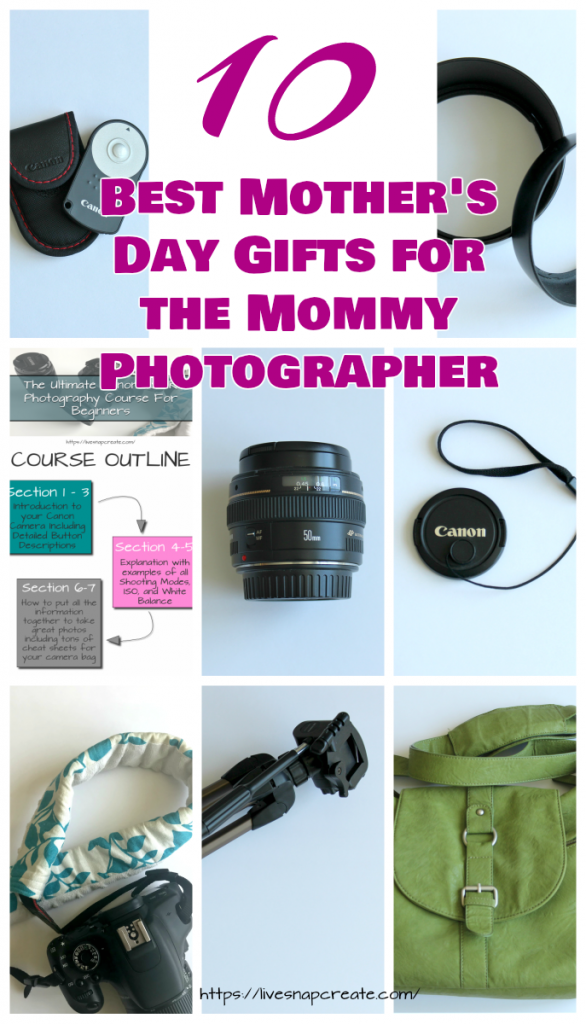 Mother's Day Mommy Photographer Gift Guide