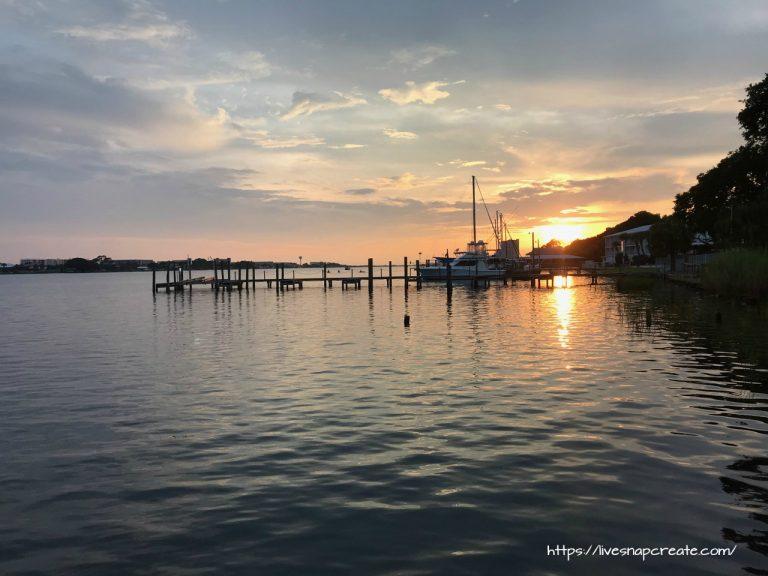 sunset iphone vacation photo