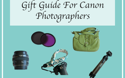 The Ultimate Canon Photographers Gift Guide