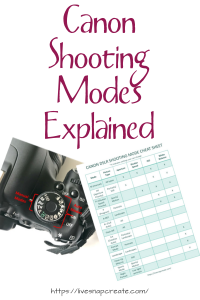 Canon Camera Modes Explained
