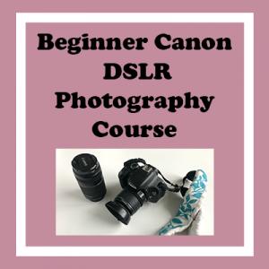 Beginner Canon DSLR Photography Course
