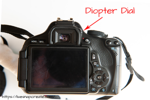 DSLR Diopter