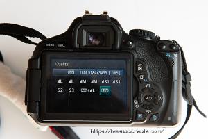 DSLR Image Quality Settings